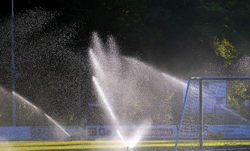 football pitch sprinkler system irrigation