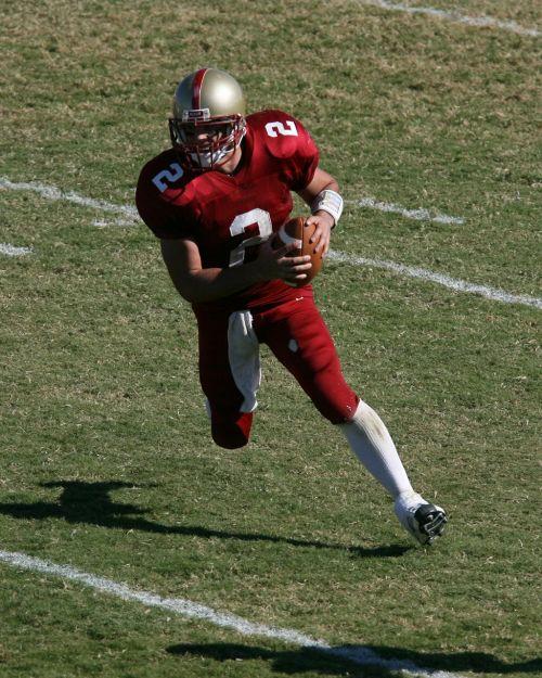 football player quarterback college football