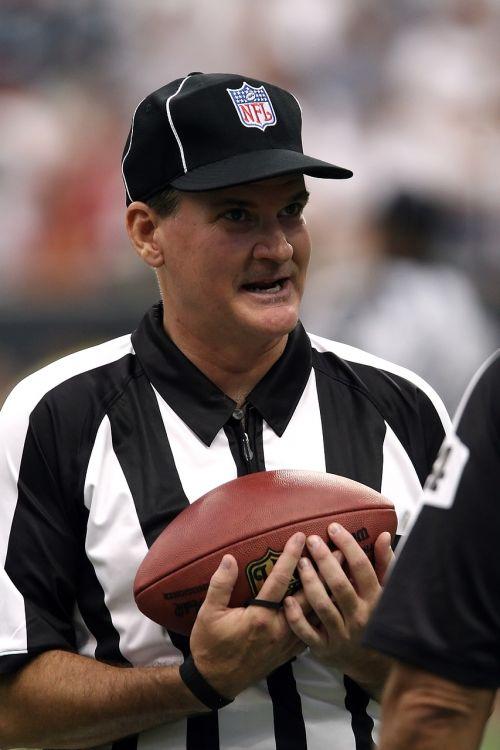 football referee professional football nfl