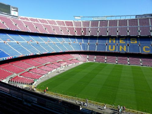 football stadium barcelona camp nou