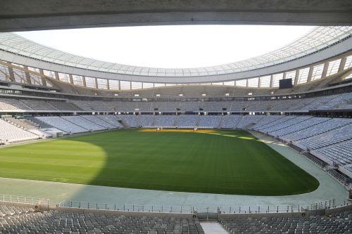 football stadium stadium rows of seats