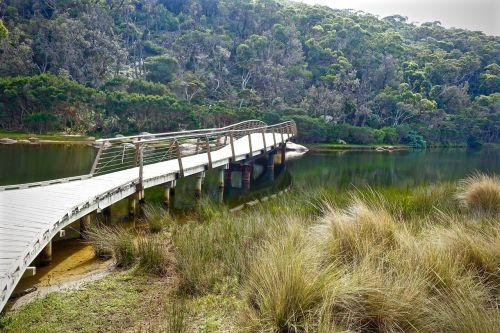 footbridge tidal river wilsons promontory