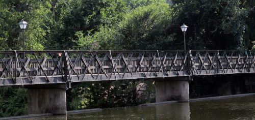 footbridge creek bridge