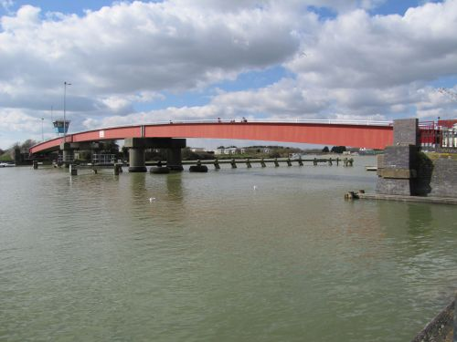 Footbridge Over The River Arun