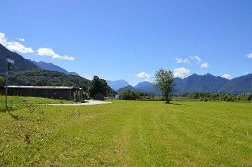 foothills of the alps upper bavaria summer