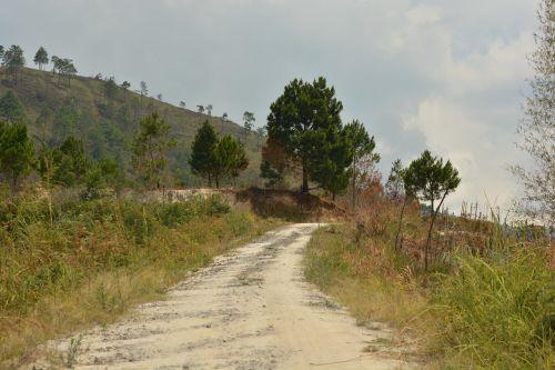 footpath road village