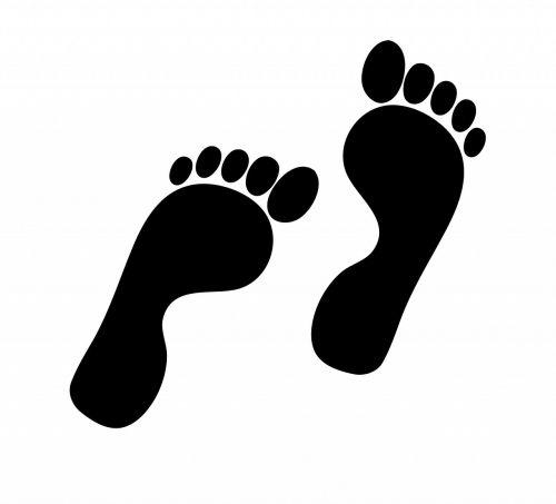 footprint footprints foot