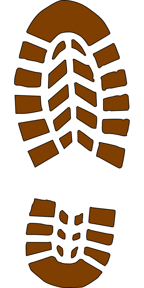 footprint mark shoemark