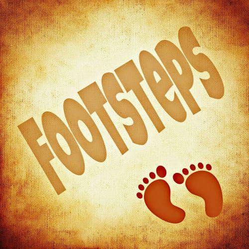 footprint footprints feet