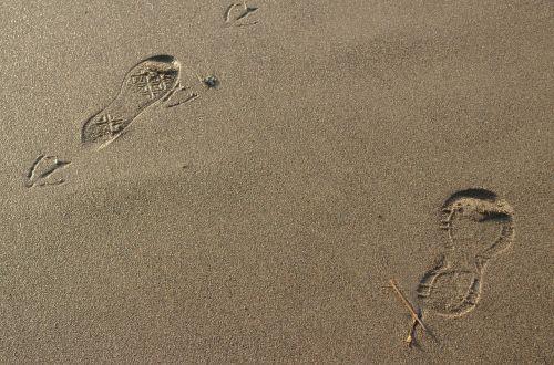 footsteps footprint step