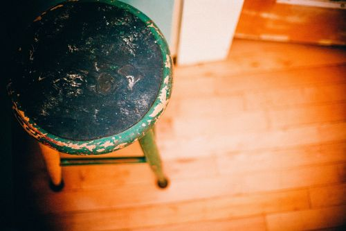 footstool stool chair