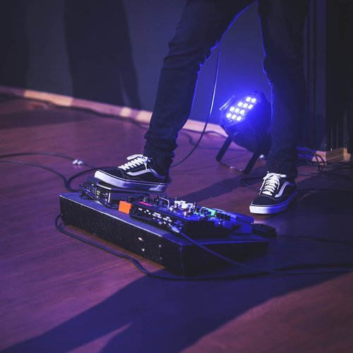 footswitch  guitar  sound