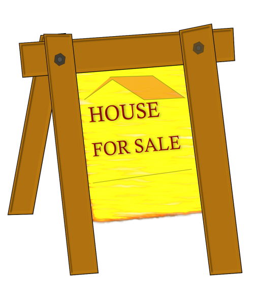 for sale sign signboard