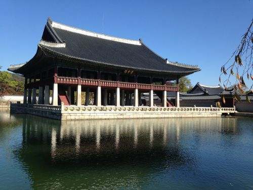 for that gyeonghoeru forbidden city