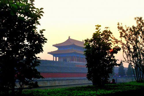 Forbidden City Dusk