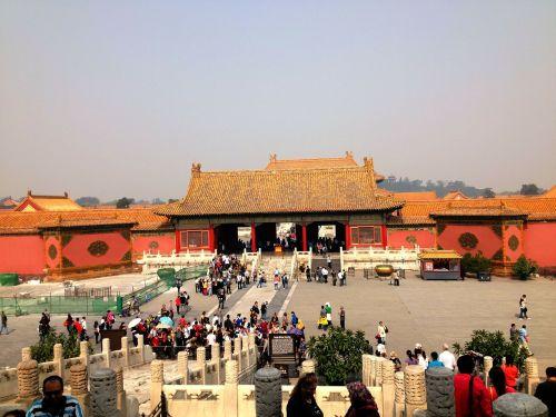 forbidden palace beijing china