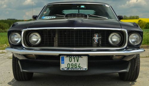 ford mustang old