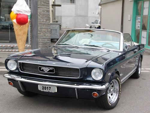 ford mustang american