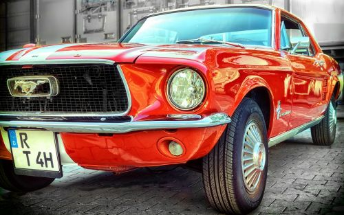 ford mustang pkw