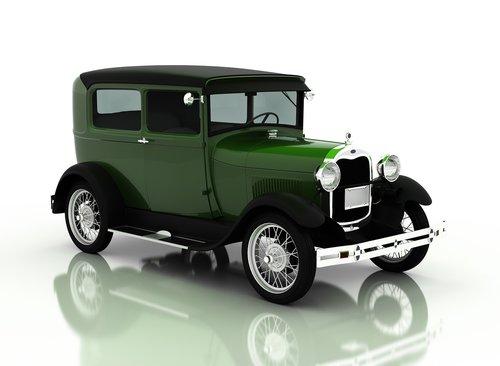 ford a tudor 1929  car  vintage