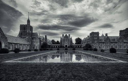 ford buildings  panorama  berry college