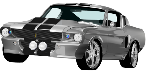 ford mustang roadster sports car