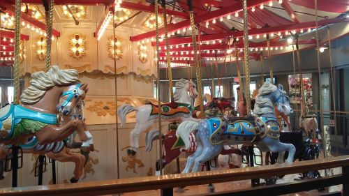 foreign countries amusement park merry-go-round