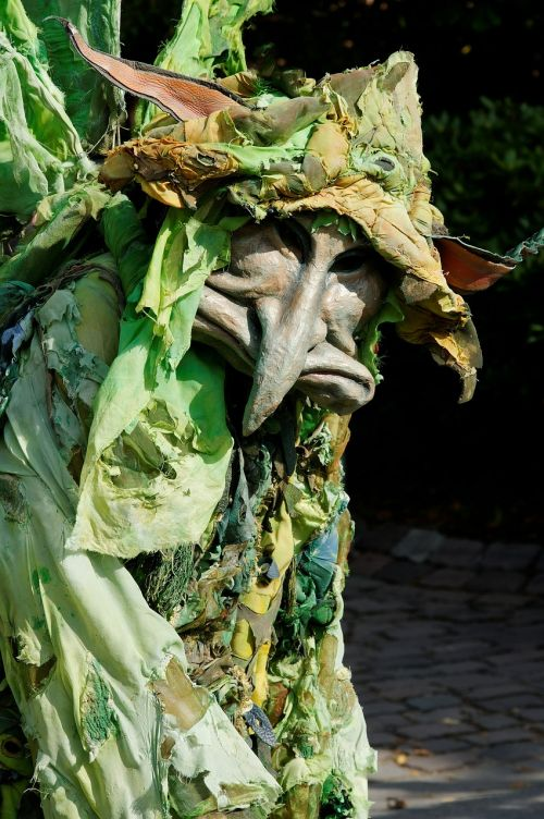 forest creatures fantasy green