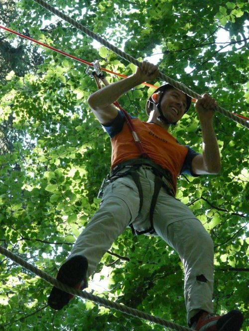 forest ropes high ropes course detention