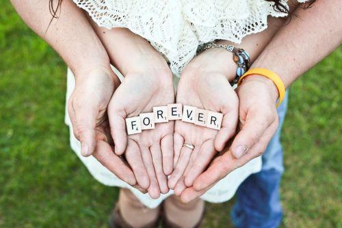 forever hands love