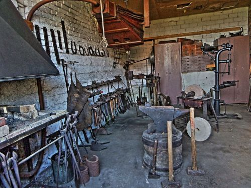 forge workshop historically