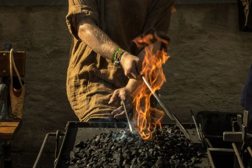 forge fire iron