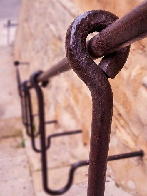 forging  iron  handrail