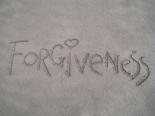 forgiveness sand summer