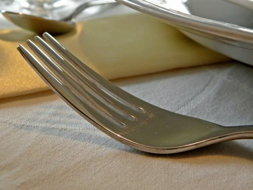 fork eat silverware