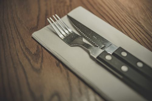 fork knife utensils