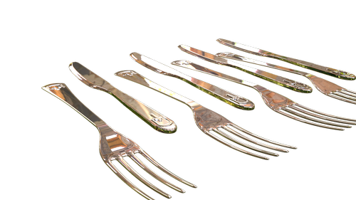 fork  knife  transparent