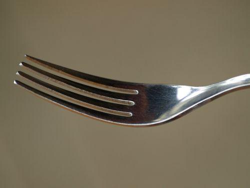 fork cutlery metal fork