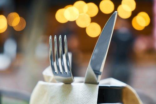 fork  knife  food