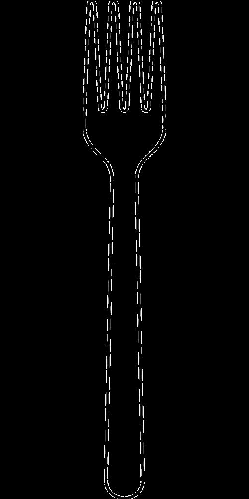 fork silverware utensil