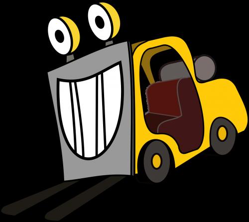 forklift lift truck truck