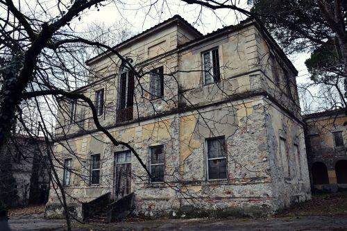 former lunatic asylum tuscany run-down