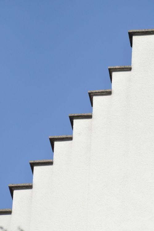 forms blue sky