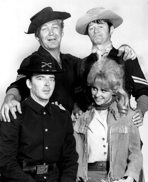 forrest tucker larry storch melody patterson