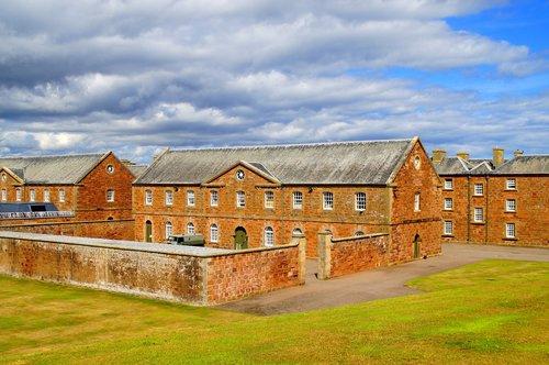 fort george  scotland  barracks