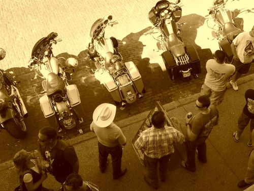 fort worth cowboys motorcycles