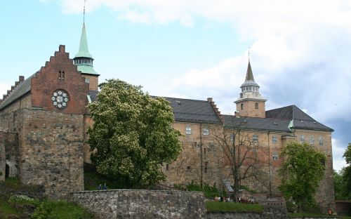 fortress,akershus,akershus fortress,norway,building,historically,architecture,oslo,landmark,places of interest,castle,tourist attraction,city,visitoslo,port,oslofjord,akershus festning,travel