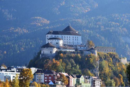 fortress kufstein autumn