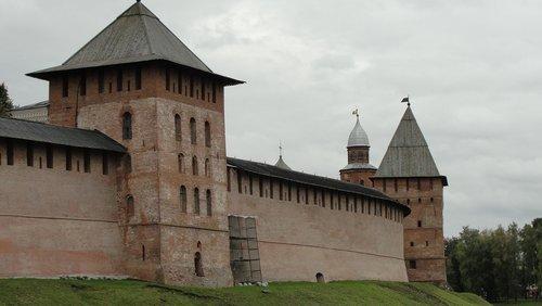 fortress  novgorod  russia
