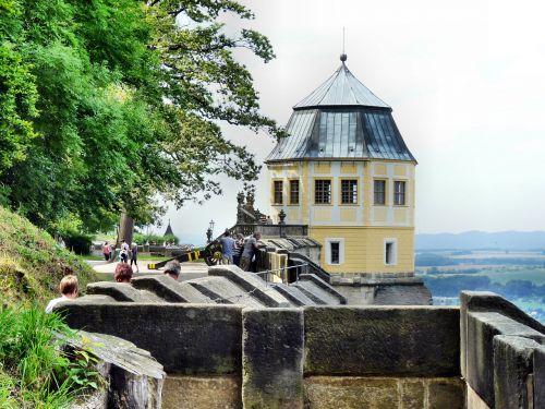 fortress doncaster saxon switzerland history